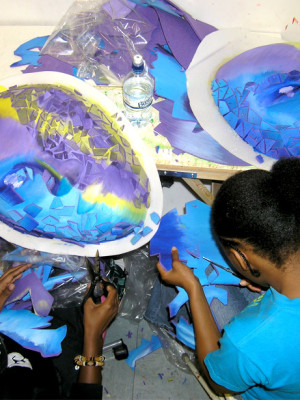 making-purple-and-blue-faces